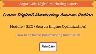 How to do Social Bookmarking Submission | Top 200+ Website List - Hindi