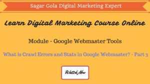 What is Fetch as Google in Google Webmaster? - Part 4 - Hindi