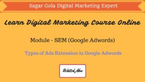 Keyword Match Types in Google Adwords, Broad, Phrase, Exact - Hindi