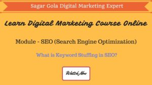 What is Keyword Stuffing in SEO? - This is Black Hat SEO Technique. - Hindi