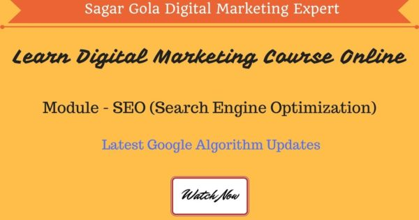What is Latest Google Algorithm updates - Panda, Penguin, Pigeon, Hummingbird - Hindi