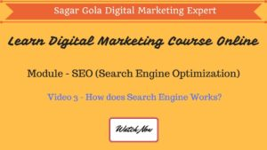 How does Search Engine Works? - Google, Yahoo, Bing - Hindi
