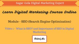 What is SEO (Search Engine Optimization)? | Introduction | Importance - Hindi